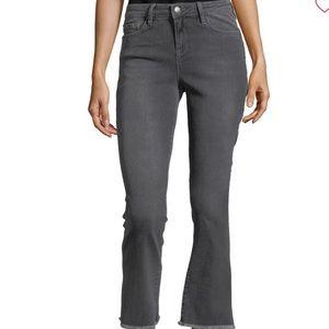 NWT F ree People High Waist Crop Straight Leg Jean
